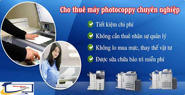 Cho thuê máy photo