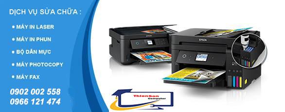 Sửa máy in, máy photocopy