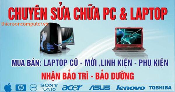Sửa máy tính tại nhà KCN Việt Hương