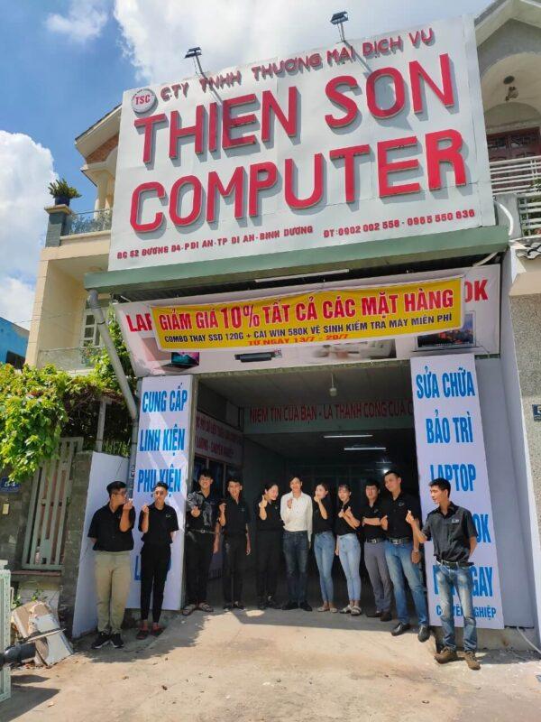 Sửa laptop ở thành phố mới Bình Dương