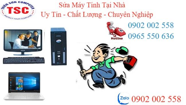 sửa máy tính tại nhà ở Thuận AN