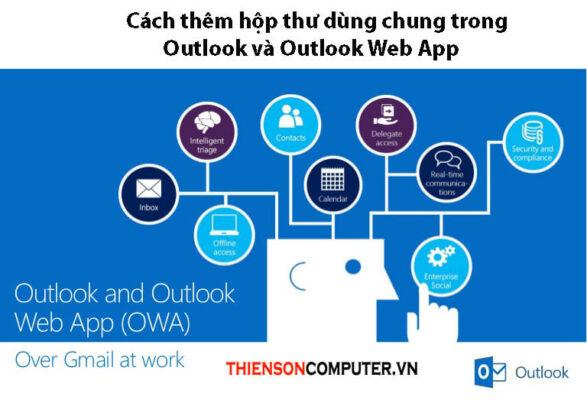 Hướng dẫn thêm hộp thư dùng chung trong Outlook và Outlook Web App