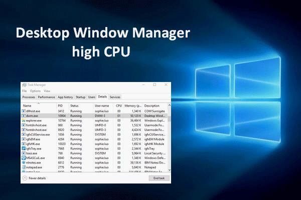 Sửa lỗi trình quản lý máy tính sử dụng bộ nhớ cao