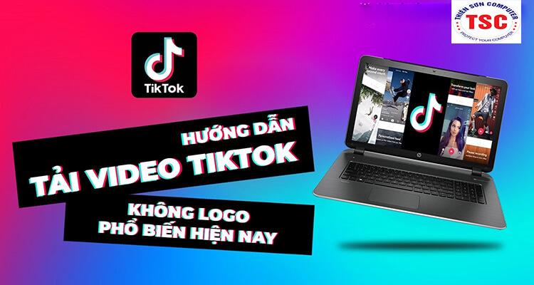 Cách tải video Tiktok không logo đơn giản trên máy tính
