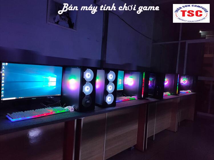 Mua bán máy tính chơi game tại Bình Dương