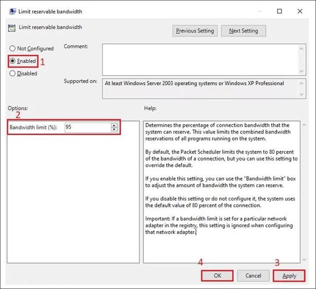 Cách bỏ giới hạn băng thông trên Windows 10 dễ dàng nhất