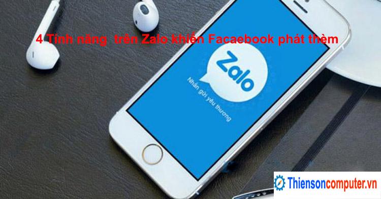 4 tính năng mới trên Zalo khiến Facebook phải phát thèm